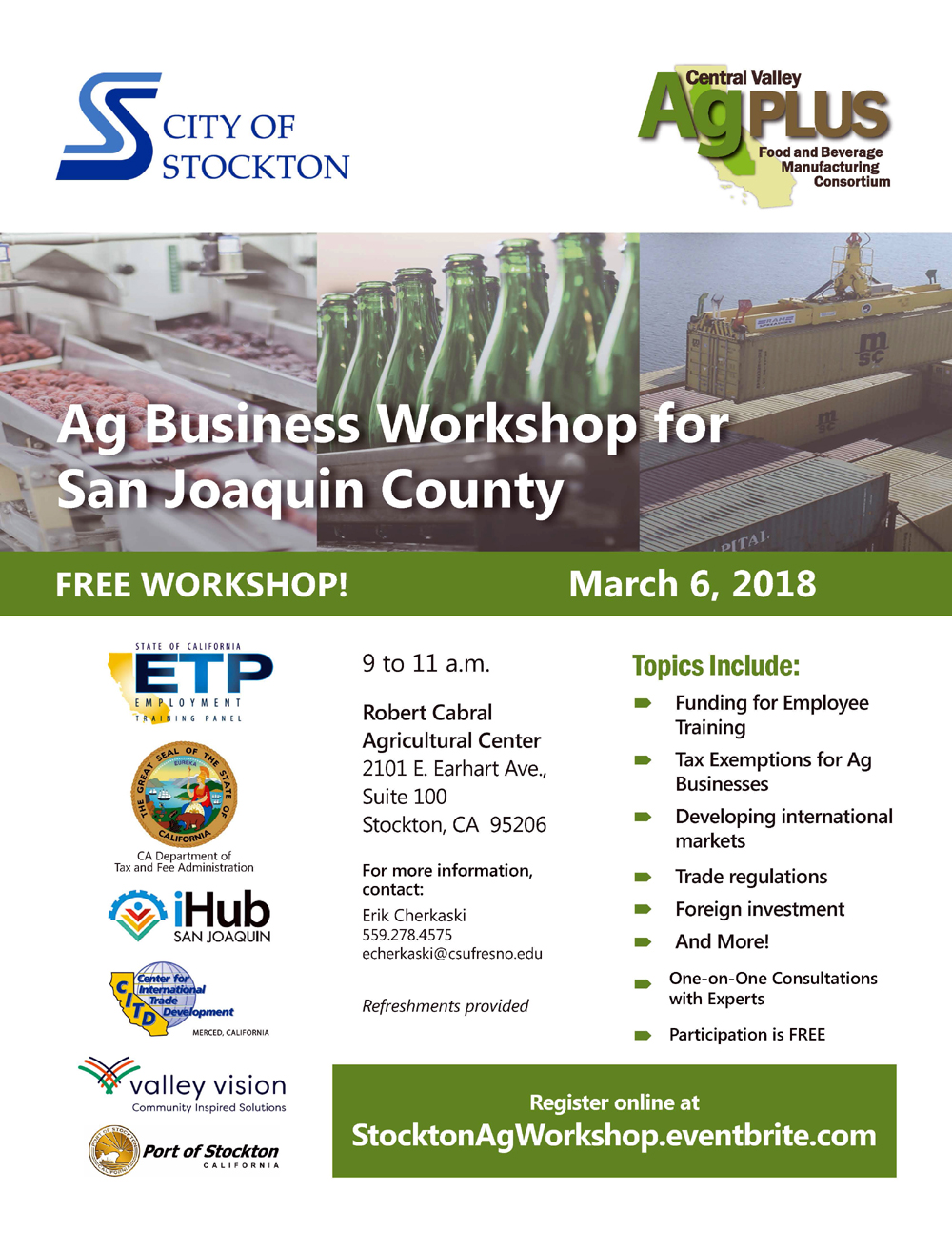 Stockton_AG_Workshop
